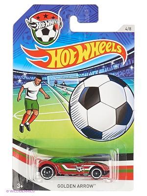 Декорированная серия машинок Кубок УЕФА Hot Wheels. Цвет: зеленый, красный, черный