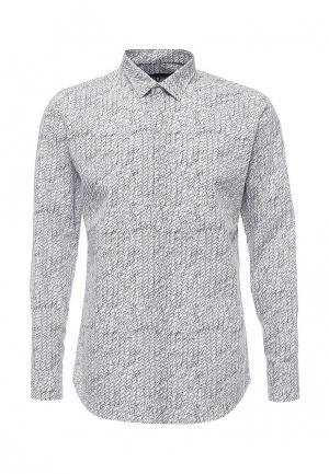 Рубашка Karl Lagerfeld. Цвет: черно-белый
