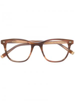 Очки Noah Moscot. Цвет: коричневый