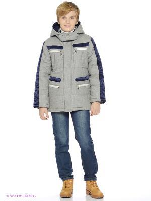 Куртка Comusl. Цвет: серый