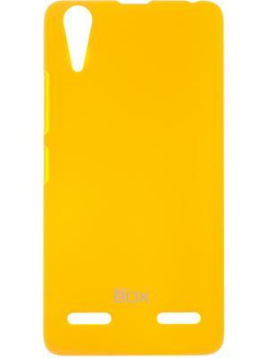 Lenovo A6000/6010 skinBOX Shield 4People. Цвет: желтый