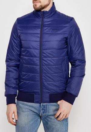 Куртка утепленная Wrangler. Цвет: синий