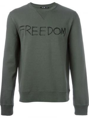 Толстовка Freedom Blk Dnm. Цвет: зелёный