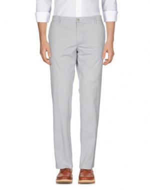 Повседневные брюки MANUEL RITZ. Цвет: белый