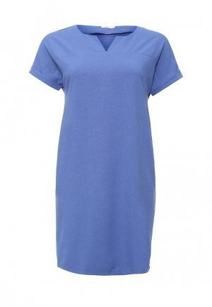 Платье Lina. Цвет: синий