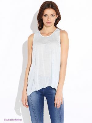 Туника Vero moda. Цвет: светло-голубой