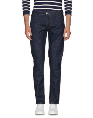Джинсовые брюки BARBA Napoli. Цвет: синий