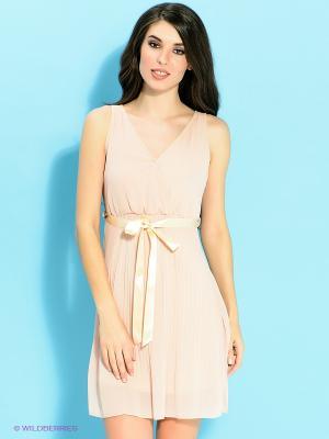 Платье Ada Gatti. Цвет: бледно-розовый