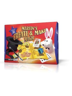 Набор из 25 фокусов Твори чудеса от Marvins Magic. Цвет: желтый, синий, красный