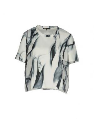 Блузка MAJE. Цвет: белый