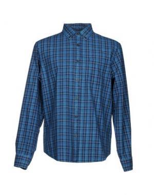 Pубашка CLUB MONACO. Цвет: темно-синий