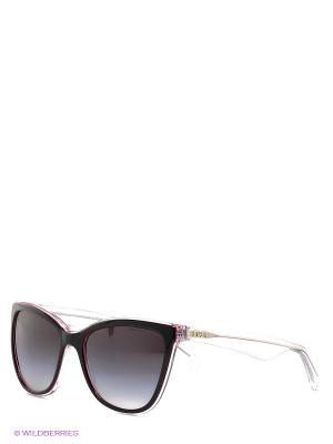 Очки солнцезащитные DOLCE & GABBANA. Цвет: черный, розовый