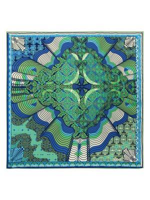 Платок Eleganzza. Цвет: темно-синий, голубой, зеленый, кремовый, салатовый, синий