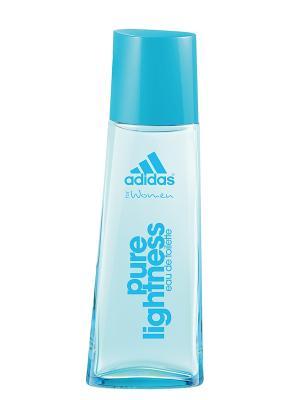 Туалетная вода adidas Pure Lightness для женщин  30мл. Цвет: светло-голубой