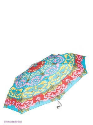 Зонт Slava Zaitsev. Цвет: голубой