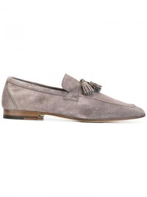 Tassel loafers Fratelli Rossetti. Цвет: серый