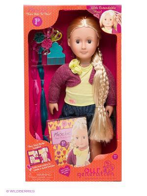 Кукла Фиби OG Dolls. Цвет: синий, сливовый, желтый