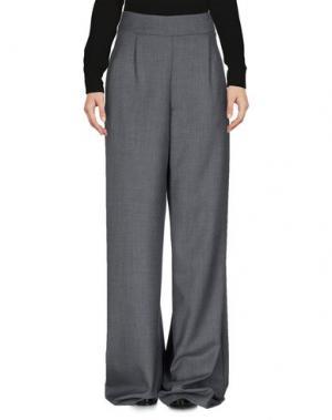 Повседневные брюки ULTRA'CHIC. Цвет: серый