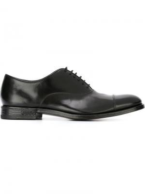 Туфли оксфорды Henderson Baracco. Цвет: чёрный