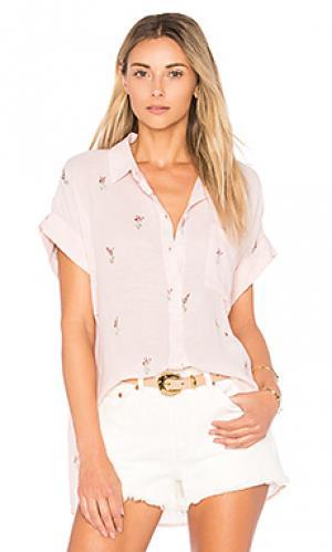 Рубашка whitney Rails. Цвет: розовый