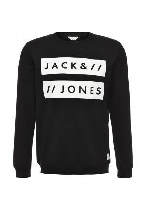 Свитшот Jack & Jones. Цвет: черный