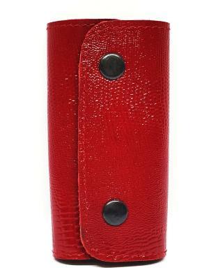 Ключница PORTE. Цвет: красный