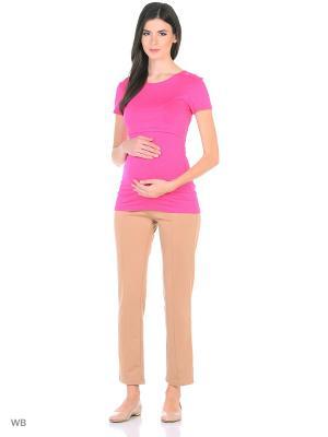 Блузка Hunny Mammy. Цвет: розовый