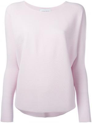 Трикотажный топ Christian Wijnants. Цвет: розовый и фиолетовый