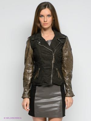 Куртка Mauritius. Цвет: темно-коричневый, коричневый
