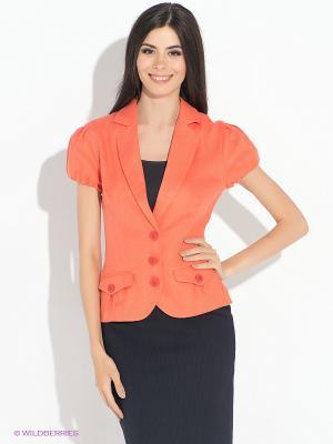 Жакет MONDIGO. Цвет: оранжевый