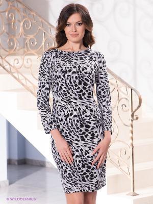 Платье Top Secret. Цвет: светло-серый, черный