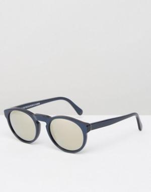 Retrosuperfuture Солнцезащитные очки Paloma. Цвет: синий