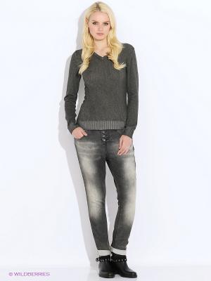 Пуловер Staff. Цвет: серый