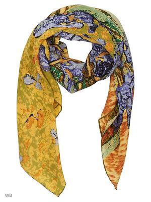 Платок Stilla s.r.l.. Цвет: желтый
