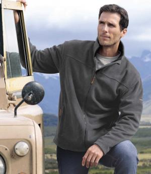 Флисовая Куртка AFM. Цвет: серыи