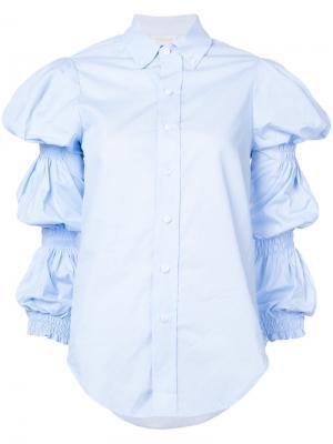 Рубашка Ophelia Petersyn. Цвет: синий