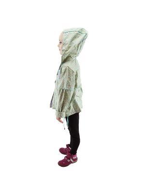 Ветровка для девочки Rusland. Цвет: зеленый
