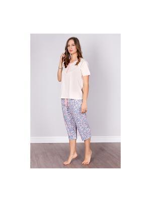 Пижама Sis. Цвет: светло-бежевый