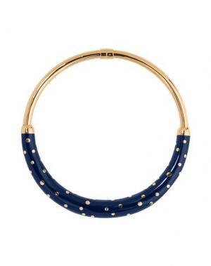 Ожерелье AURÉLIE BIDERMANN. Цвет: темно-синий