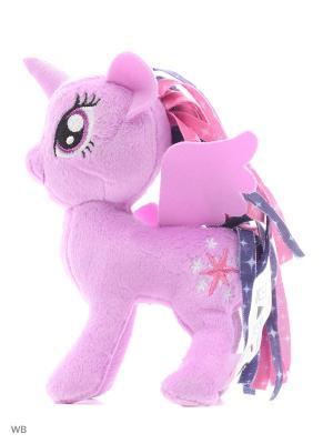 Маленькие плюшевые пони My Little Pony. Цвет: фиолетовый