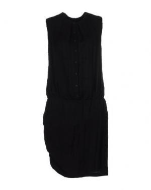 Платье до колена E-GÓ. Цвет: черный