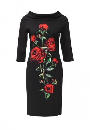 Платье Piena. Цвет: черный