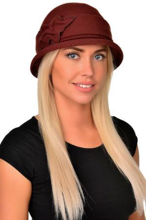 Шляпа Tonak. Цвет: каштановый