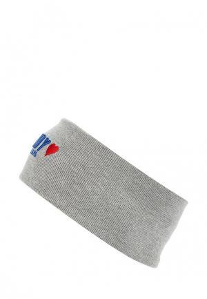 Повязка Tommy Jeans. Цвет: серый