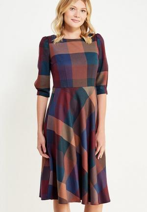 Платье Emka. Цвет: разноцветный