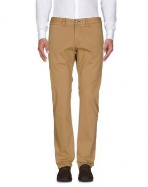 Повседневные брюки ALV ANDARE LONTANO VIAGGIANDO. Цвет: верблюжий