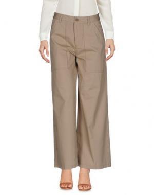 Повседневные брюки VIRNA DRÒ®. Цвет: бежевый