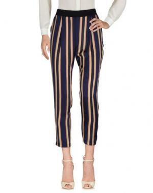 Повседневные брюки KARTIKA. Цвет: темно-синий