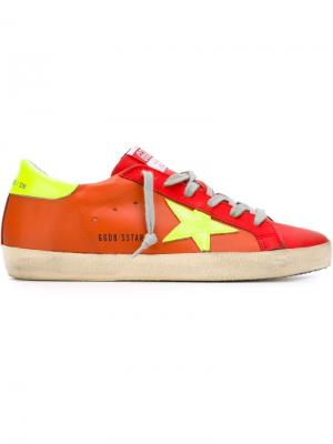 Кеды Super Star Golden Goose Deluxe Brand. Цвет: красный