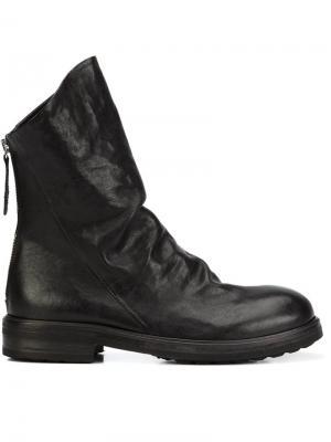 Ботинки на молнии Chuckies New York. Цвет: чёрный
